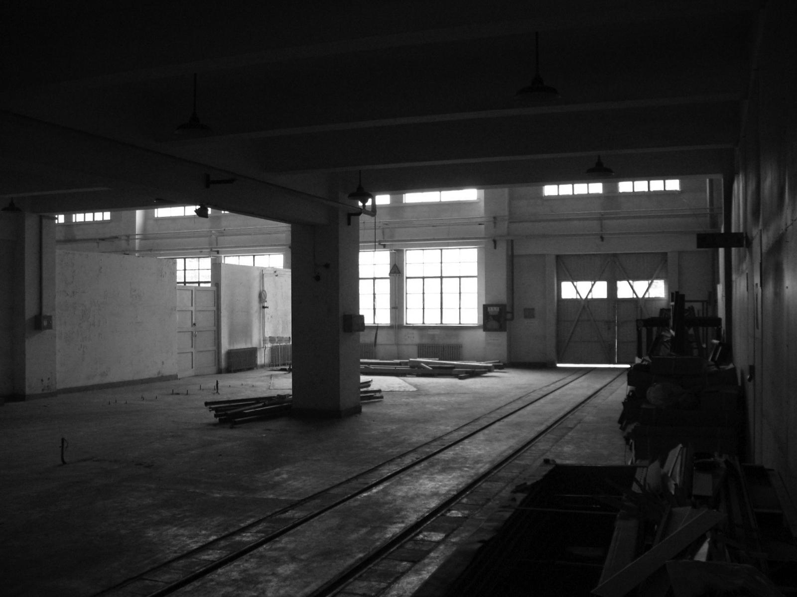 改造前的厂房 Existing condition