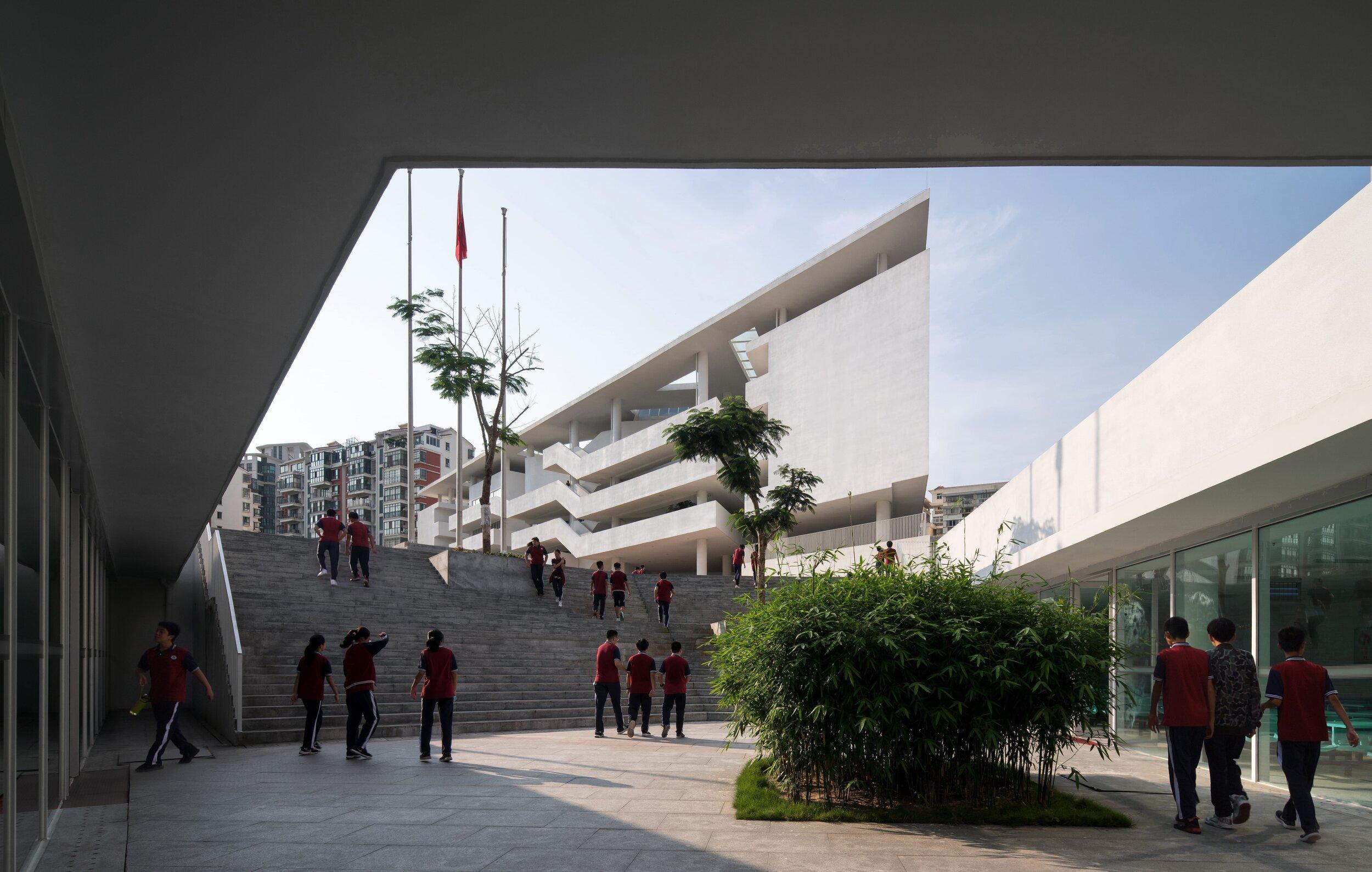 37 食堂下沉廣場 ?是然建筑攝影  Canteen sunken plaza ?Schran Images.jpg