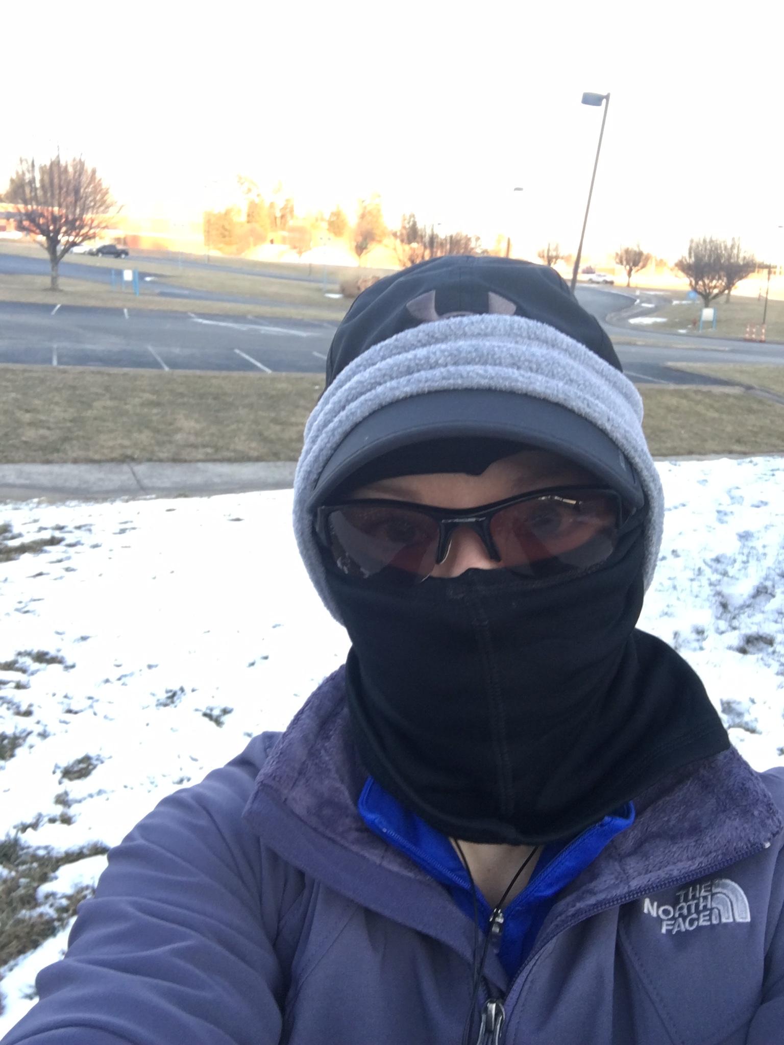 Winter Track Running