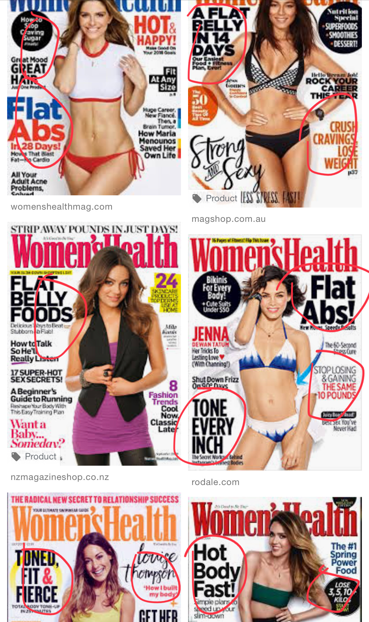 Women Health Magazine