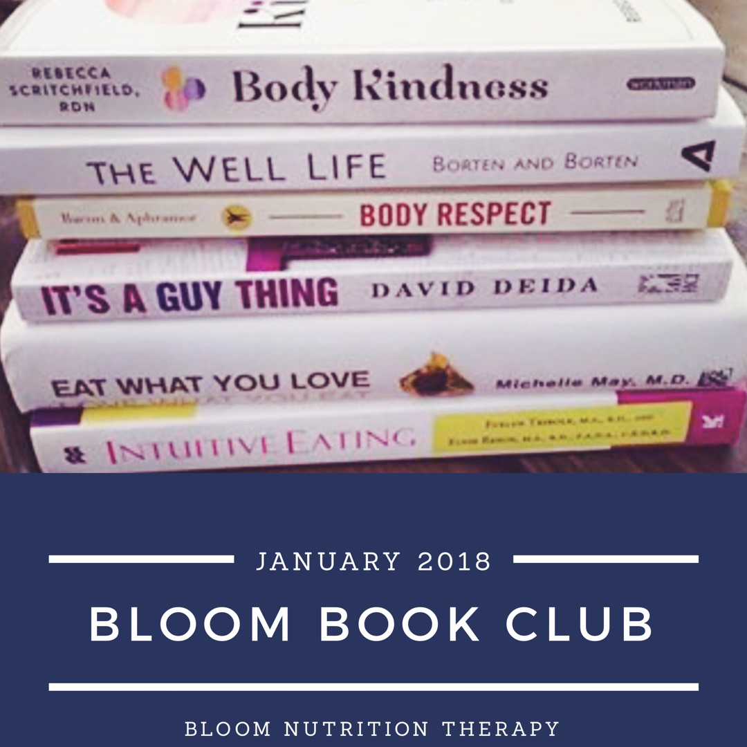 Join Us! - Each season we read a new selection of a Intuitive Eating or HAES related book.Free Membership Available!