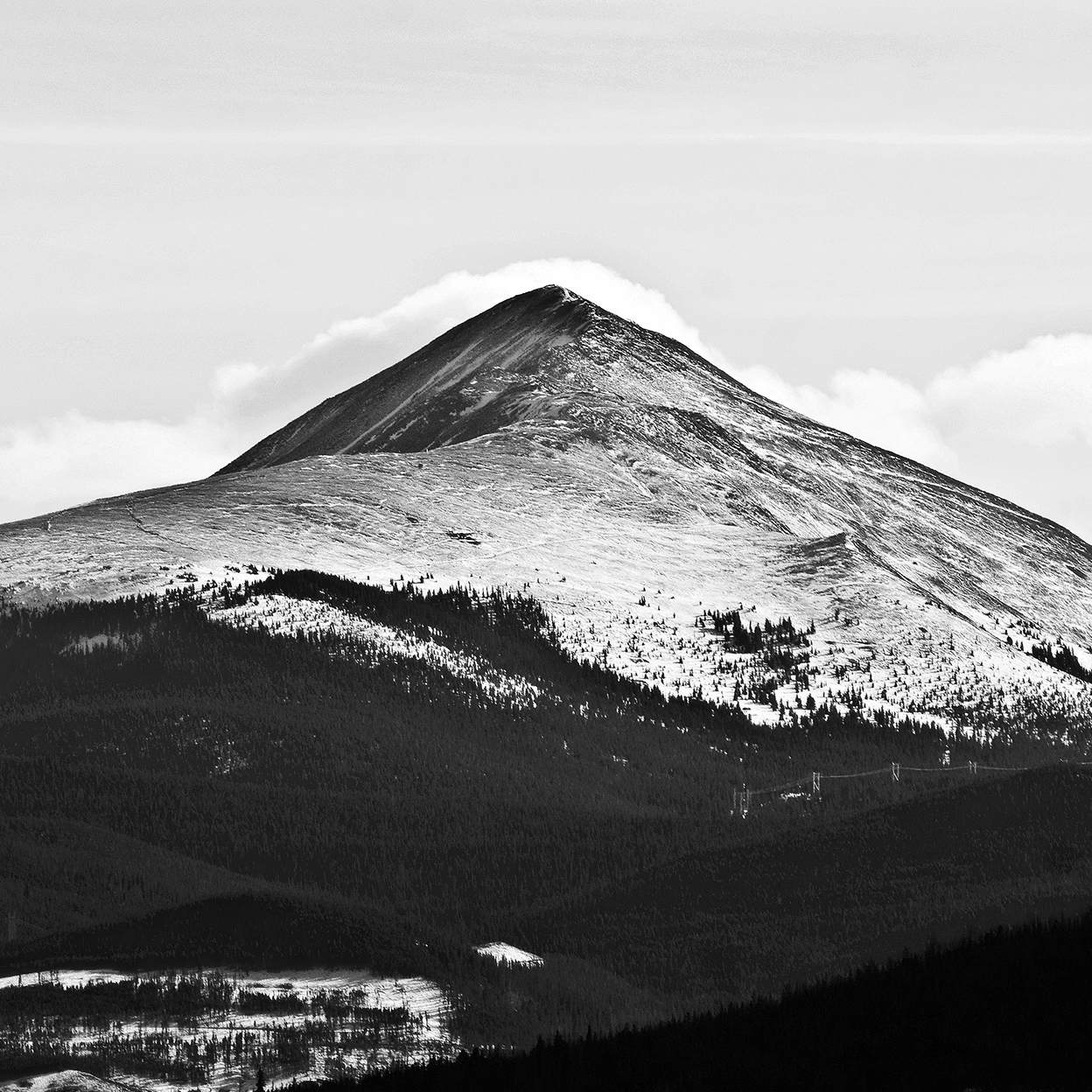 (c) 2017 Right Half Media - The Rocky Mountains Photograph #1