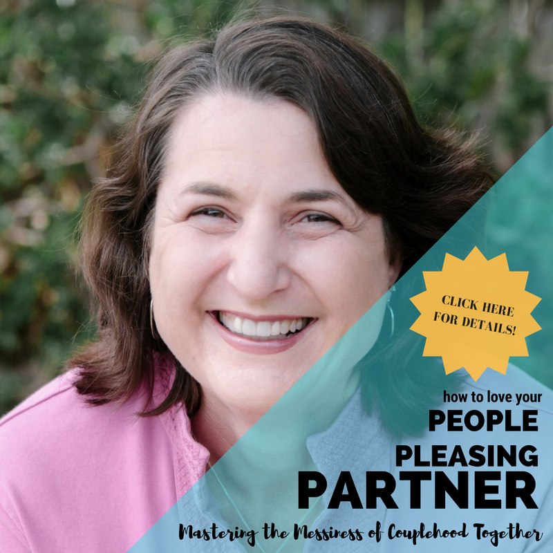 Sharon Martin, LCSW - How to Love Your People Pleasing Partner    OCTOBER 20, 2016