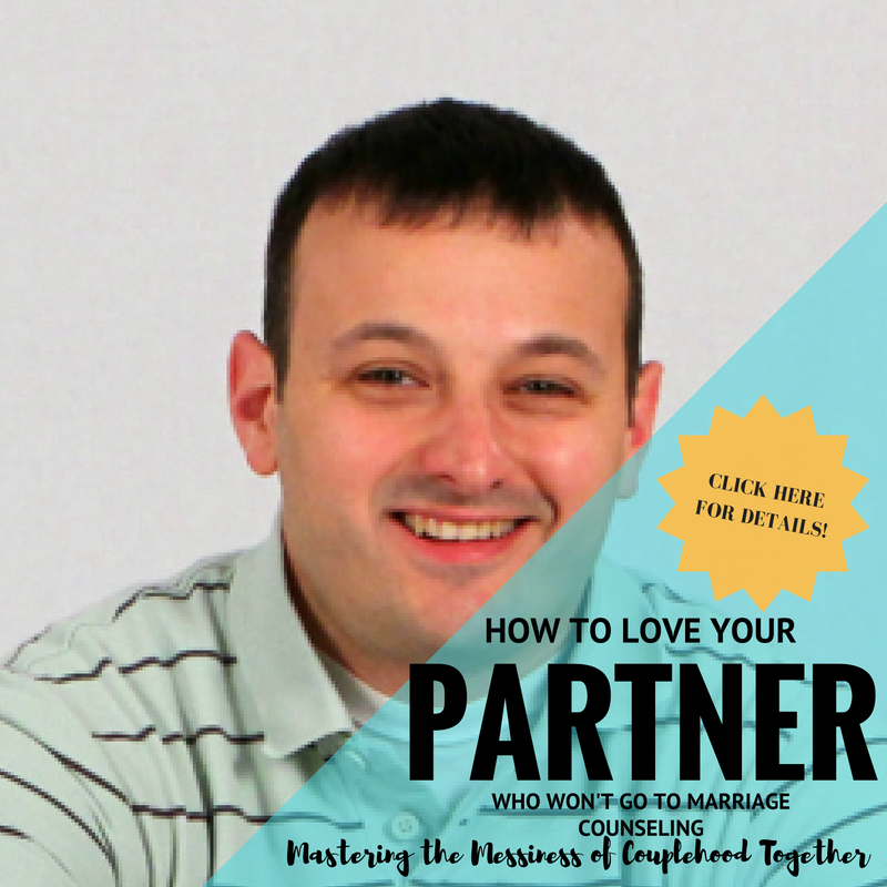 Nick Pavlidis - How to Love Your Partner Who Won't Go to Couples Counseling    OCTOBER 17, 2016