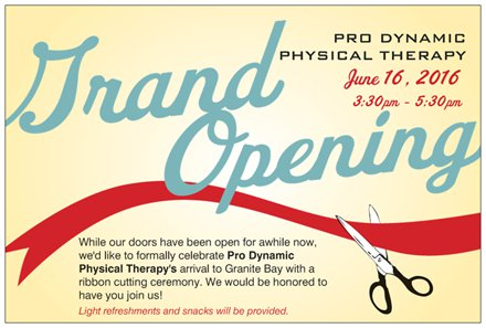 PDPT Ribbon Cutting Flier