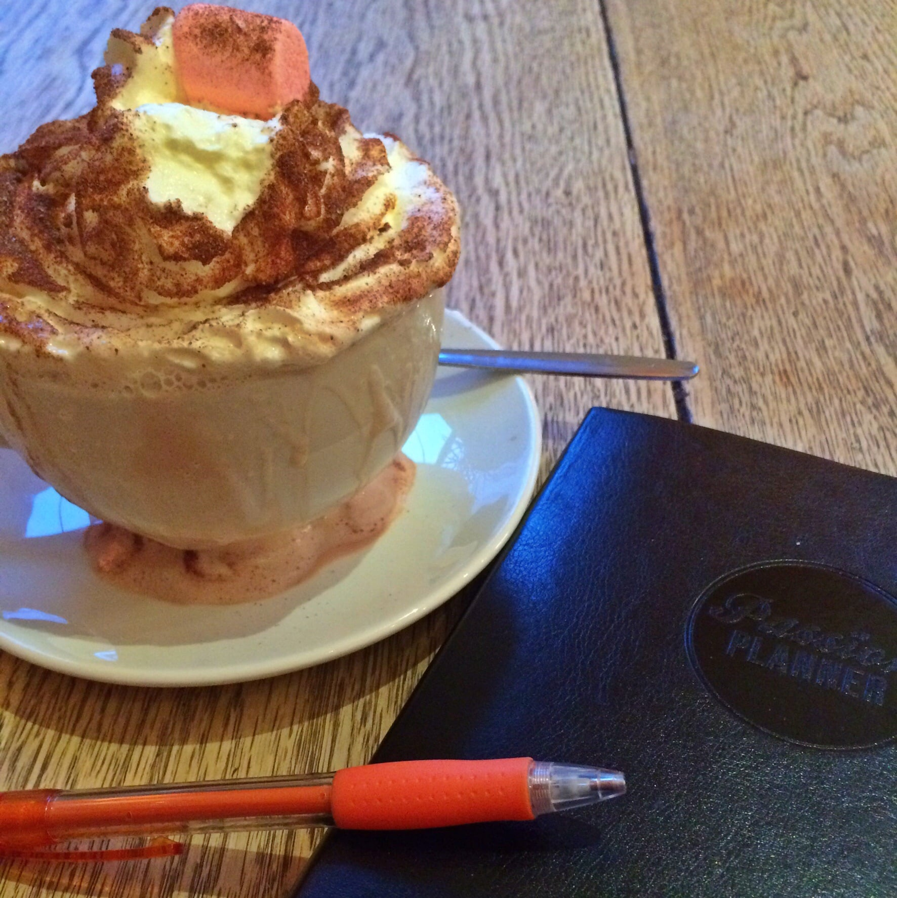 The Mallow Delight at The Elephant House Cafe in Edinburgh's Old Town.