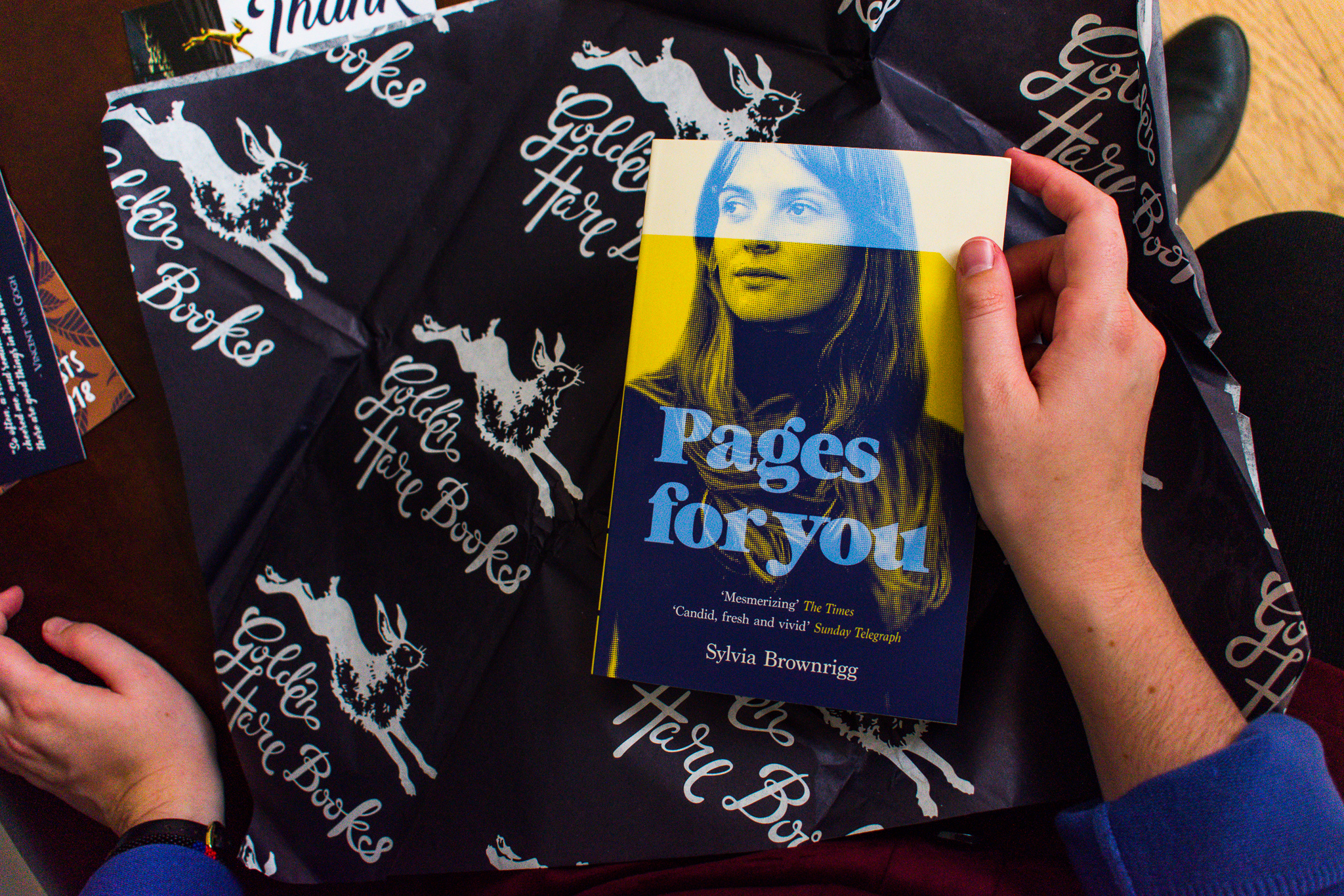 Pages for You  by Sylvia Brownrigg.
