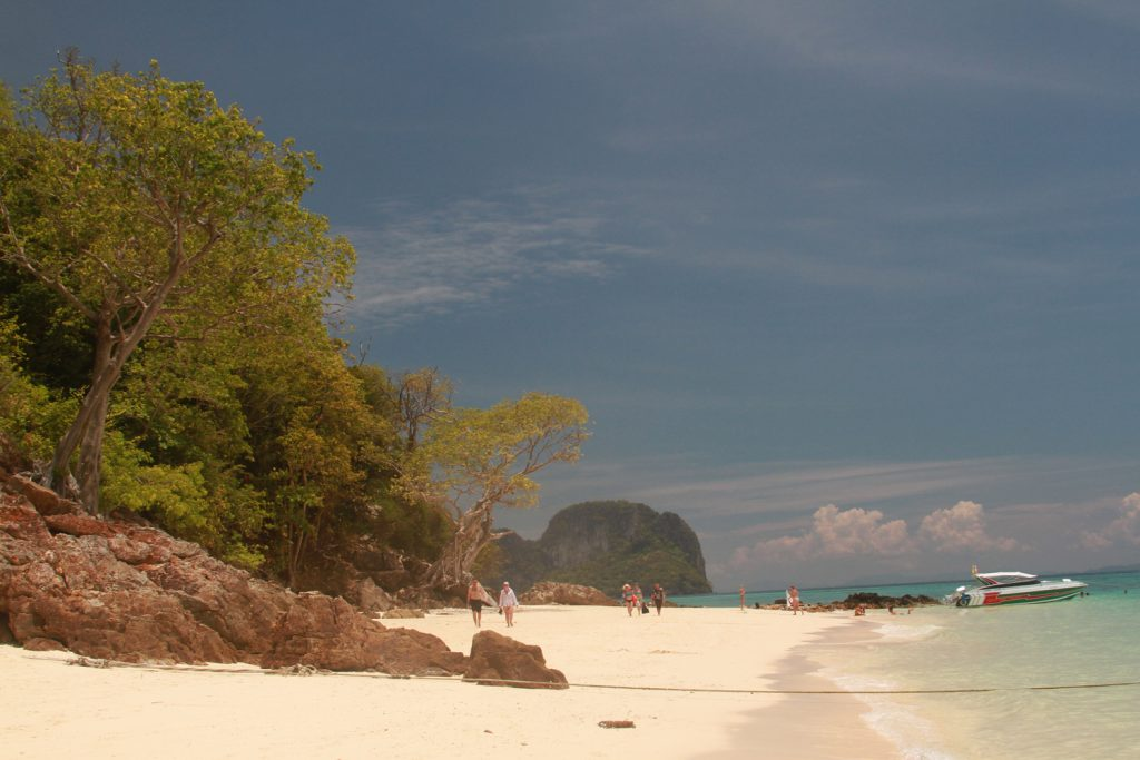 Bamboo Island, our last stop. 4th Phi Phi Island we got to experience. It was a long full day.