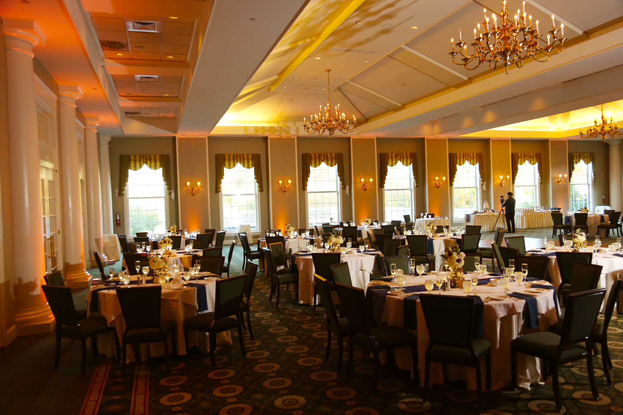 The Charter Oak CC was a gorgeous venue for their wedding.