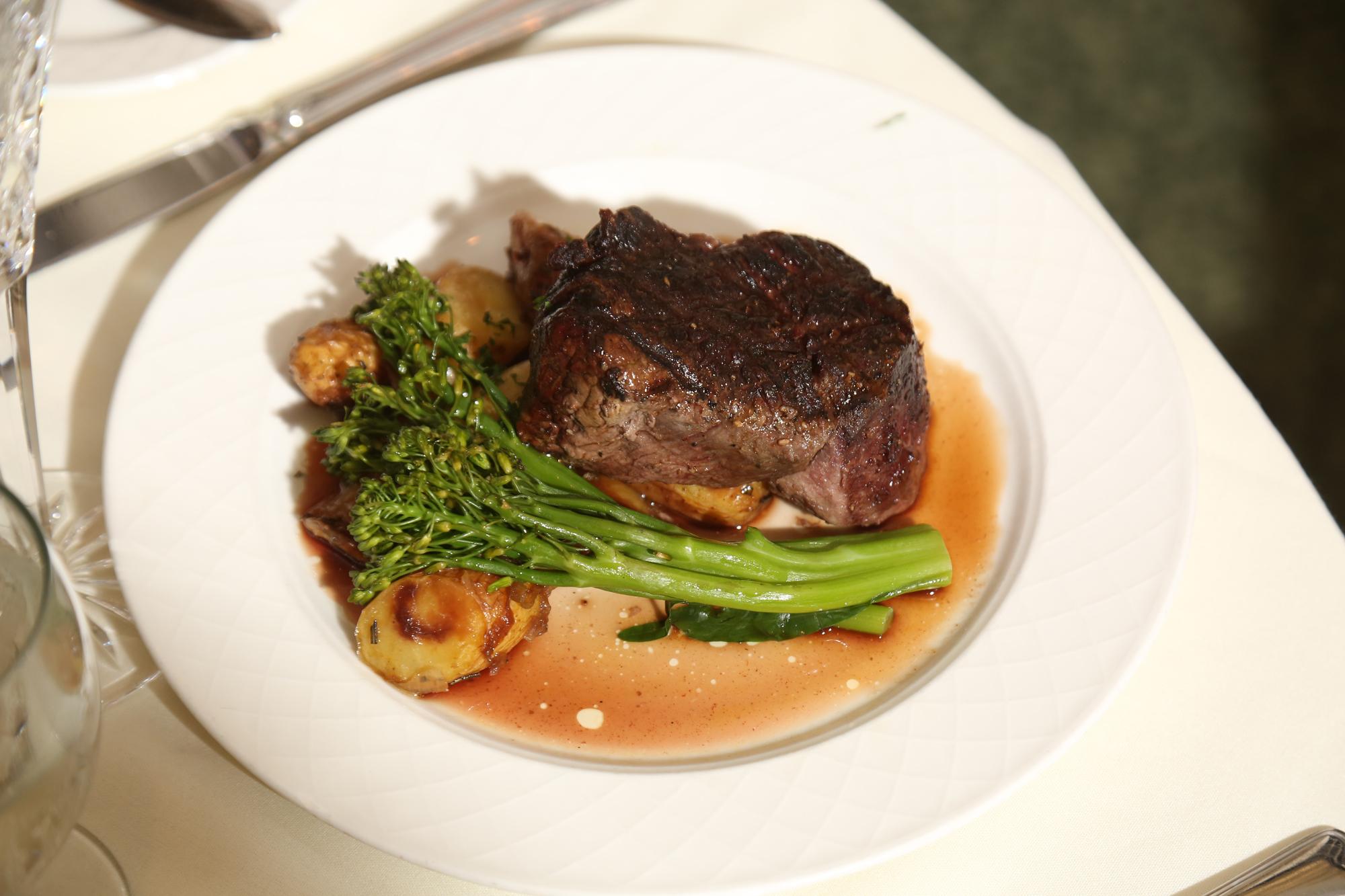 Steak at wedding venues