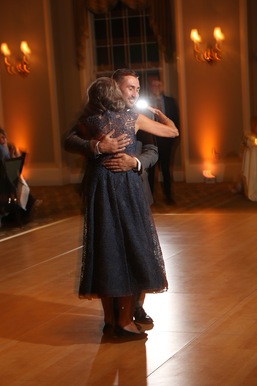 Mother son wedding dance