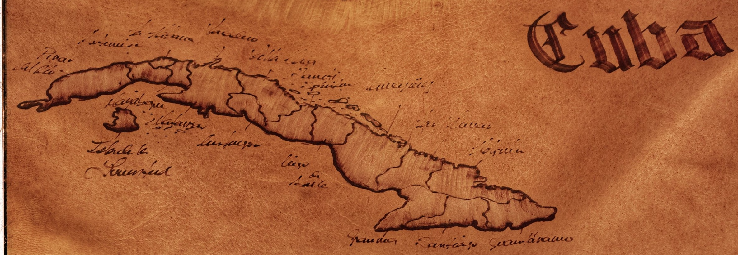 Cuba is 740 miles long and Havana is on the Northwest part of the island. We drove SW from Habana.