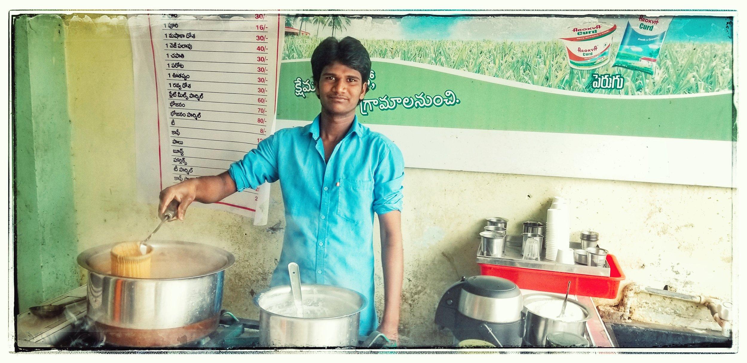Coffee vendor.