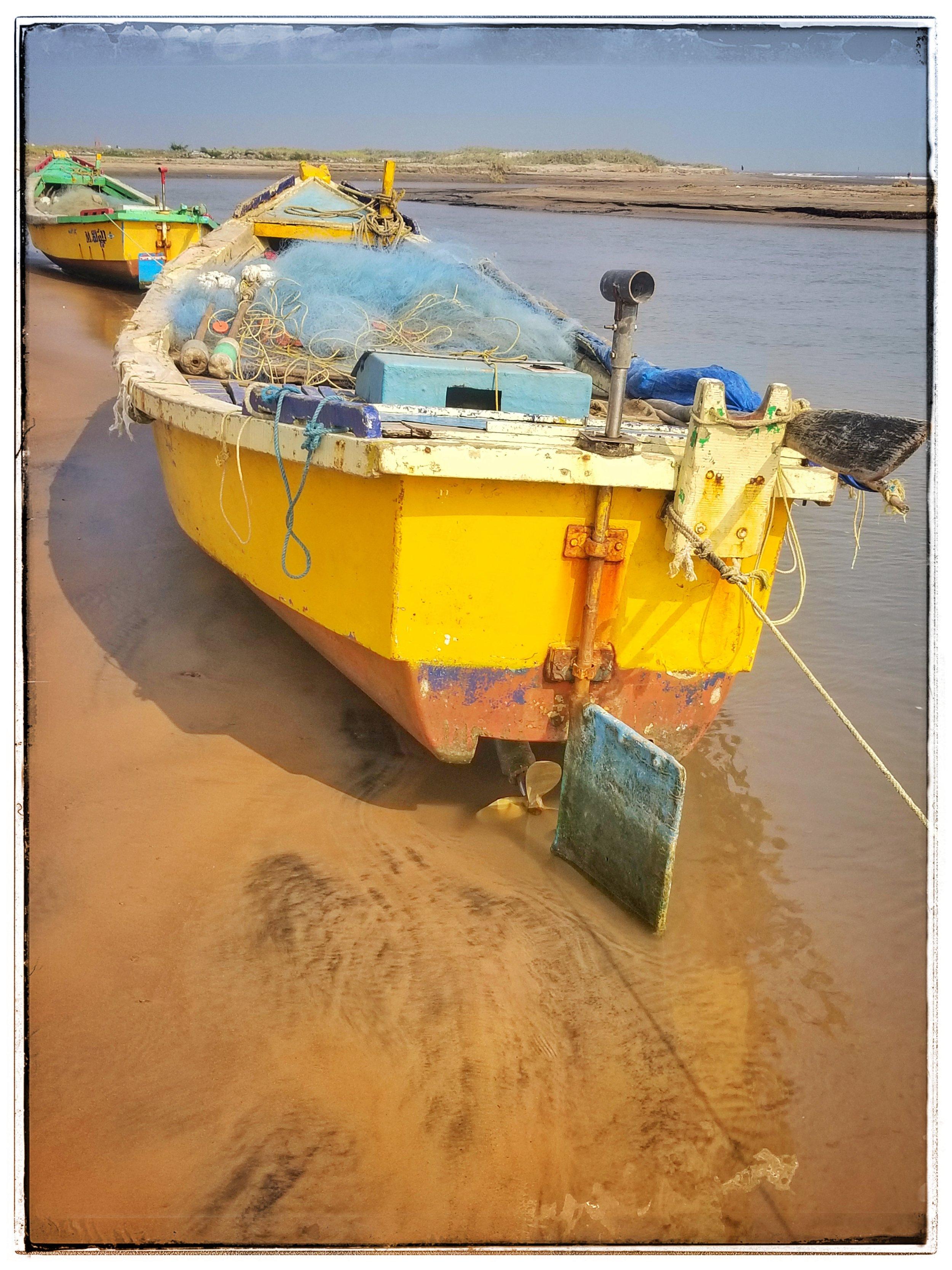 Bay of Bengal fishing boats.