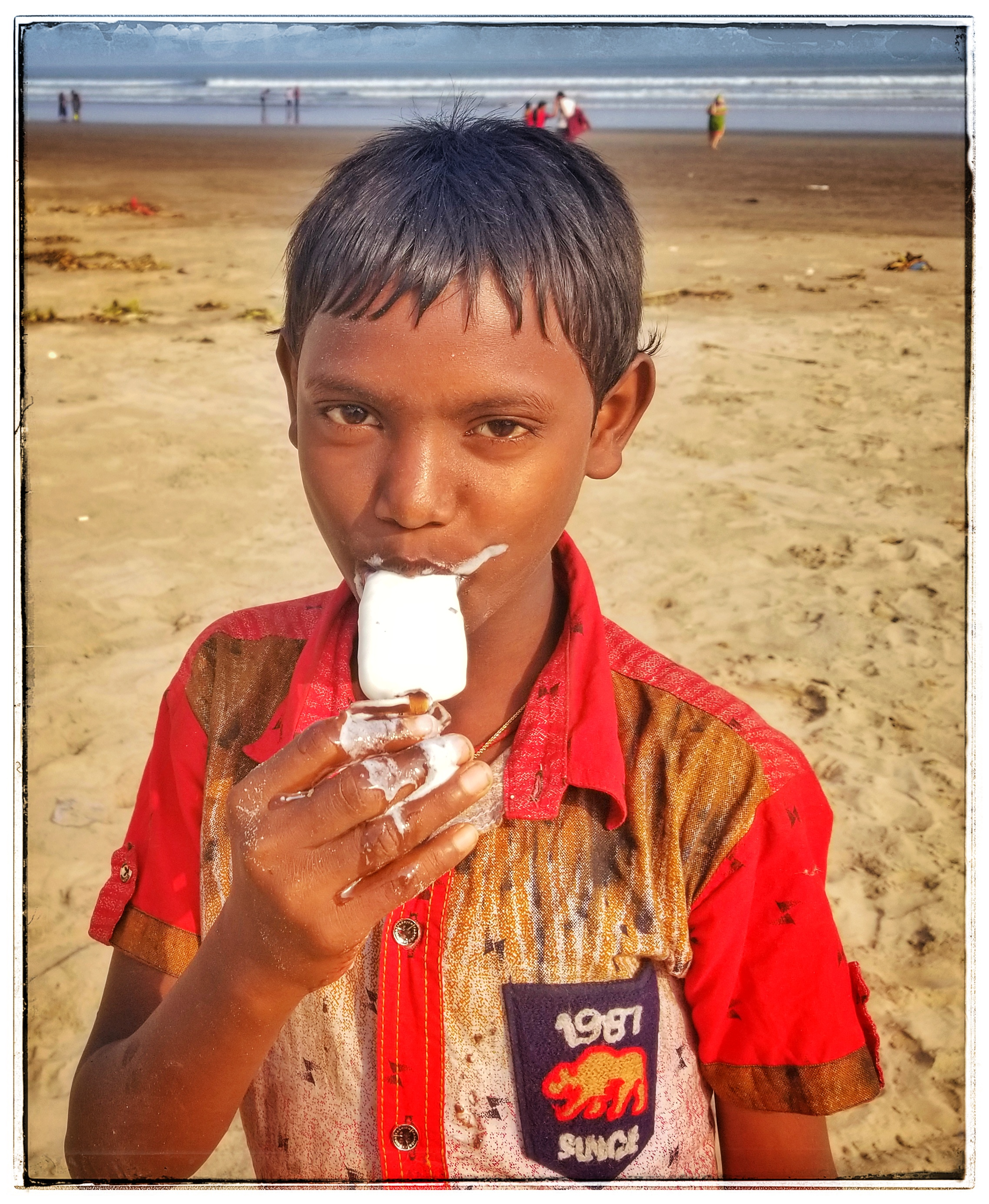Ice cream in India is very good. Highlight of the day for the kids.