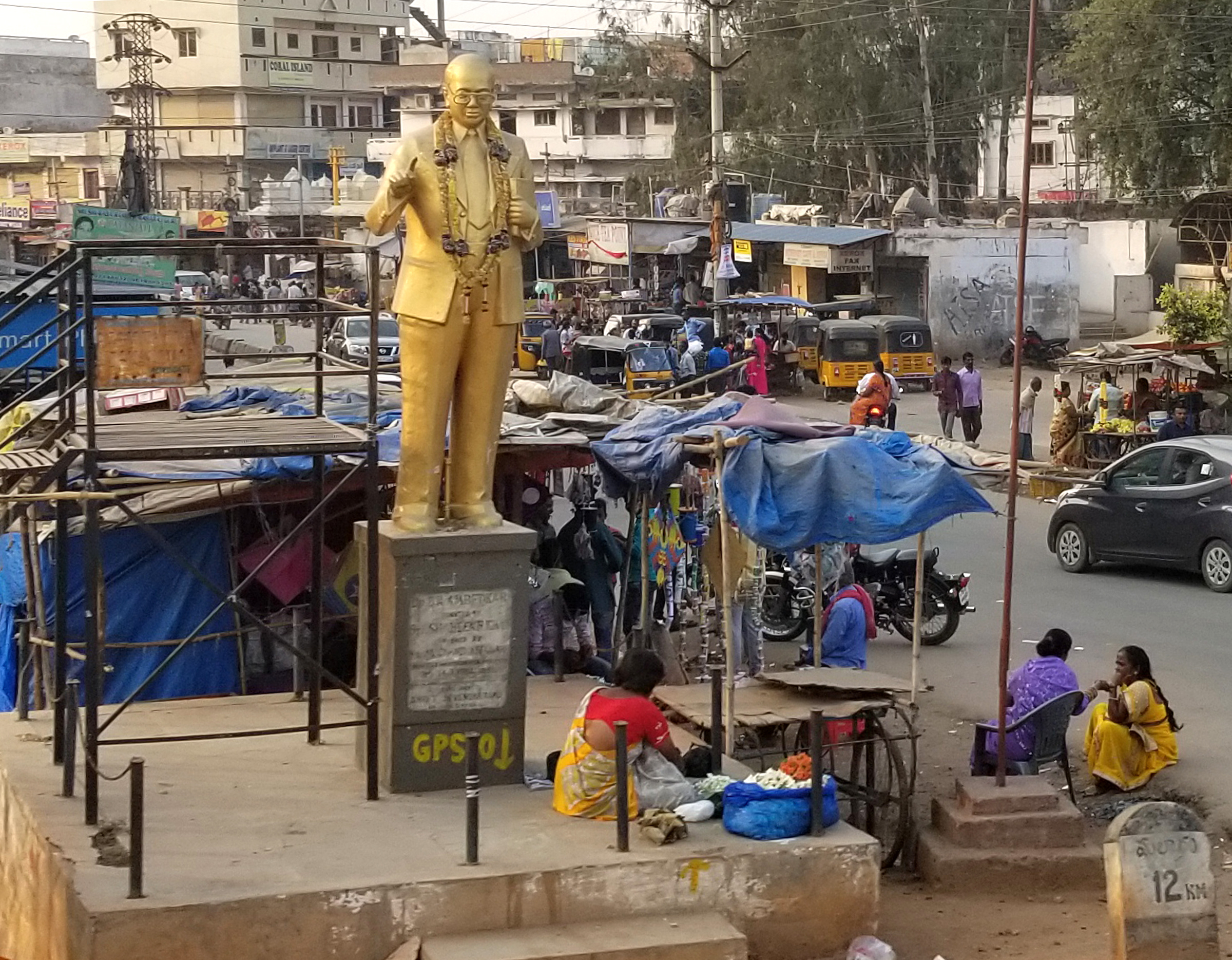 Every where you go there are statues. Usually dedicated to a local politician who did something for that community. Ego and prestige is an integral part of the culture.