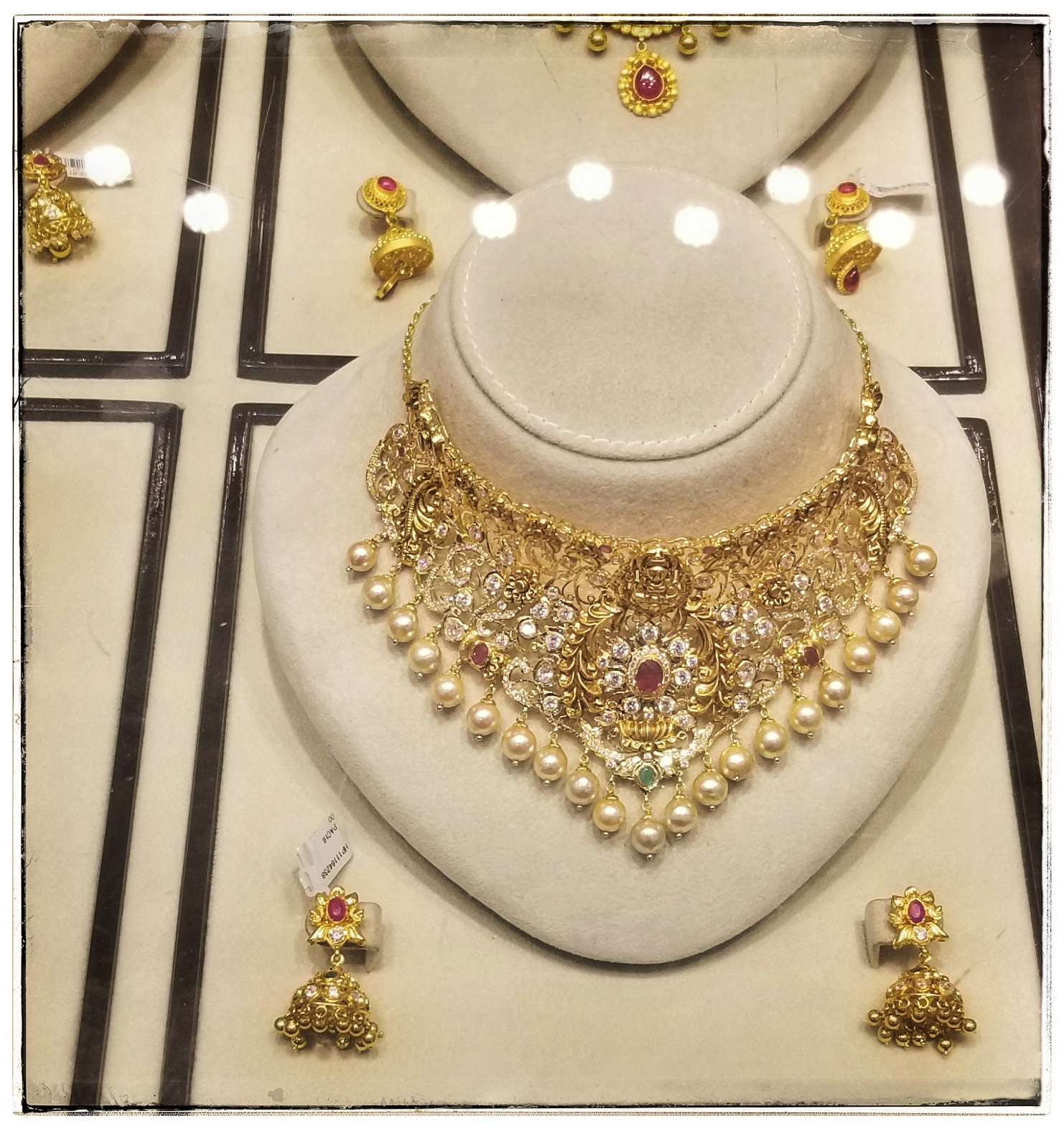 Typical necklace for a standard wedding. This cost $4,500.