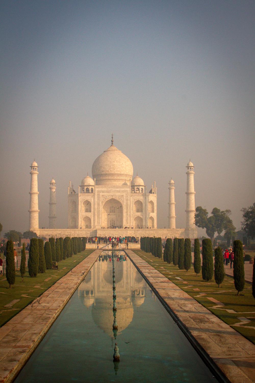 Taj Mahal at Sunrise stunning Agra India photographs wedding photographer Eugene Oregon