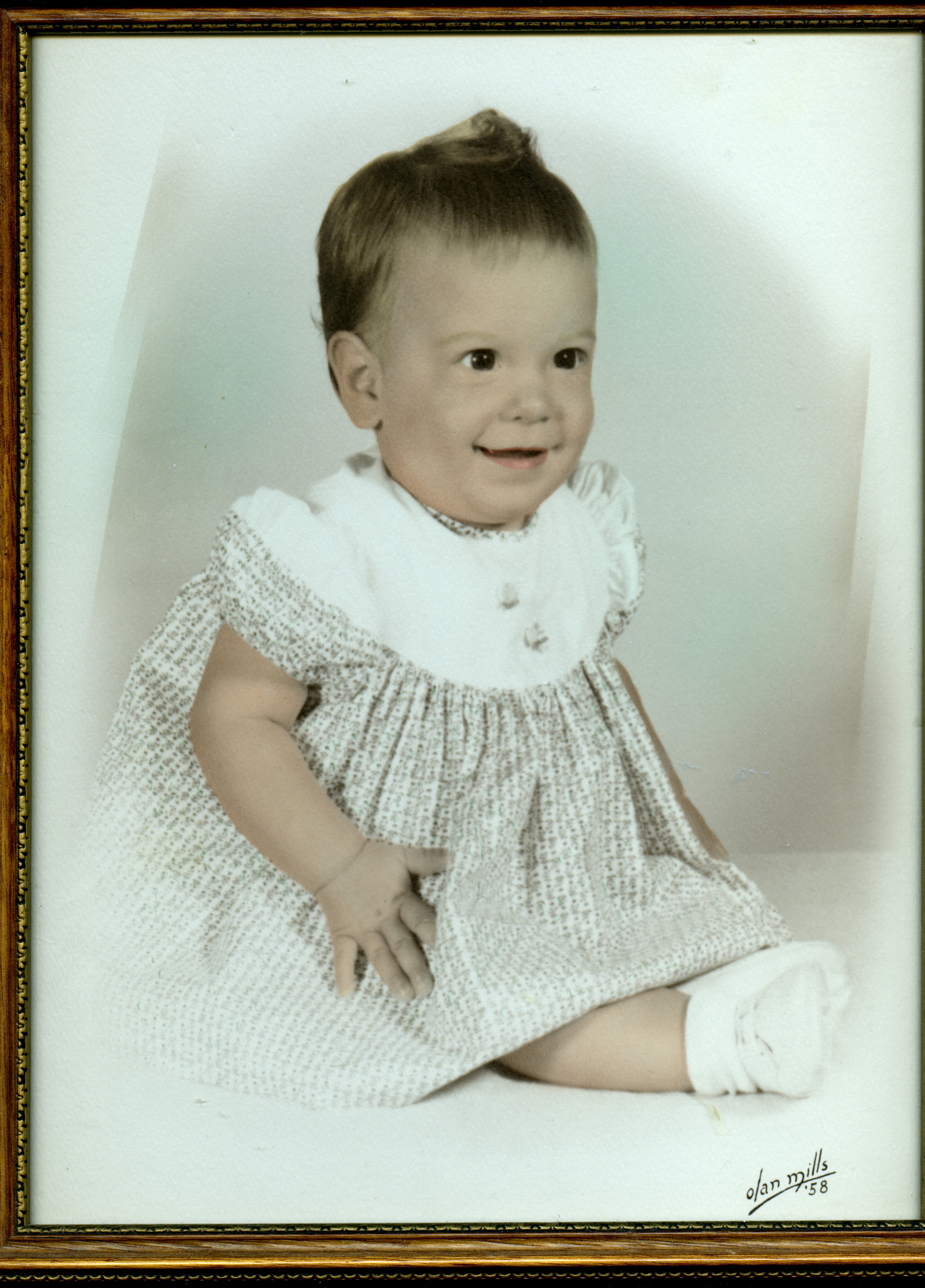 Sherri as a 6 month old.
