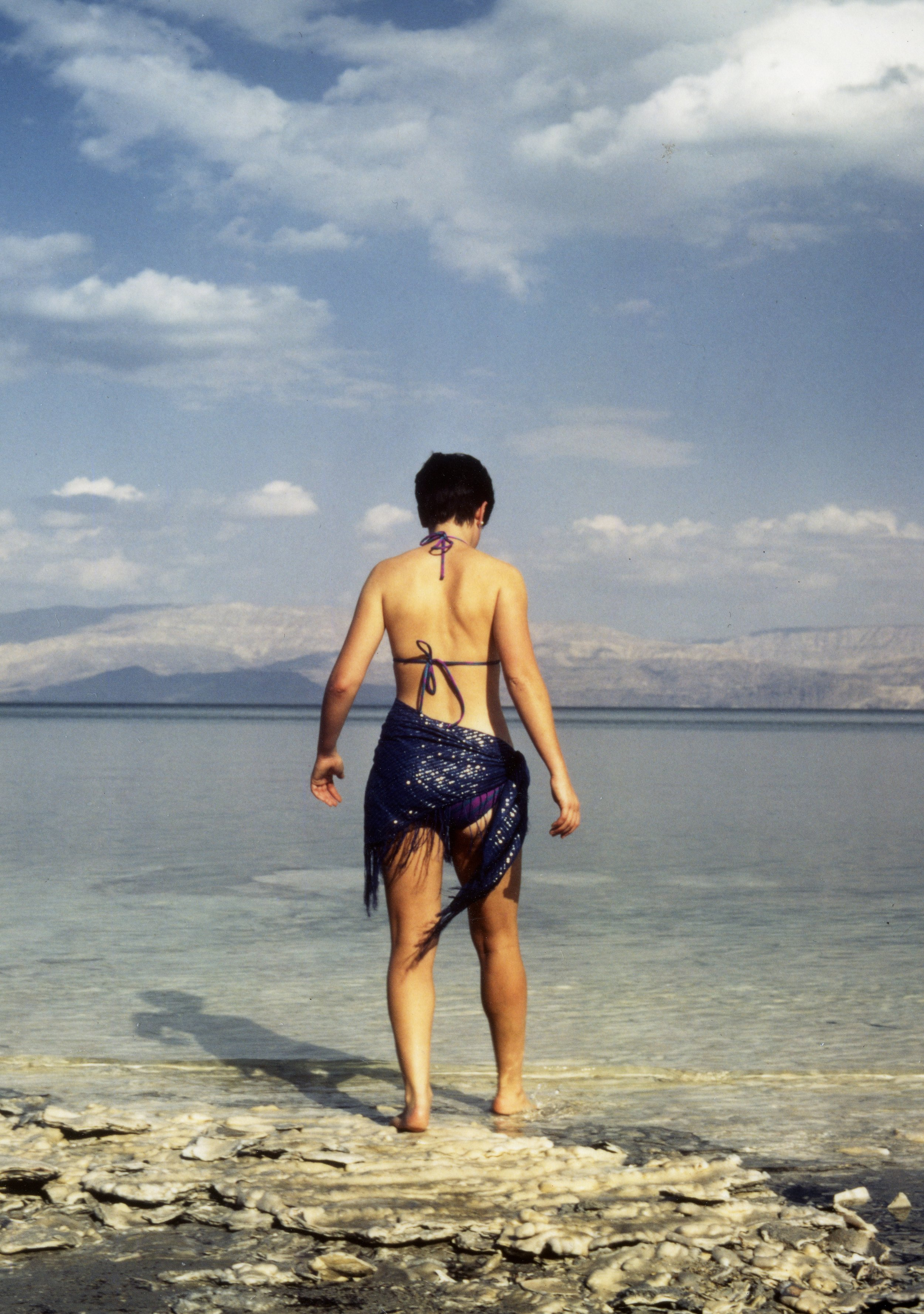 Age 26 at the Dead Sea, Israel.
