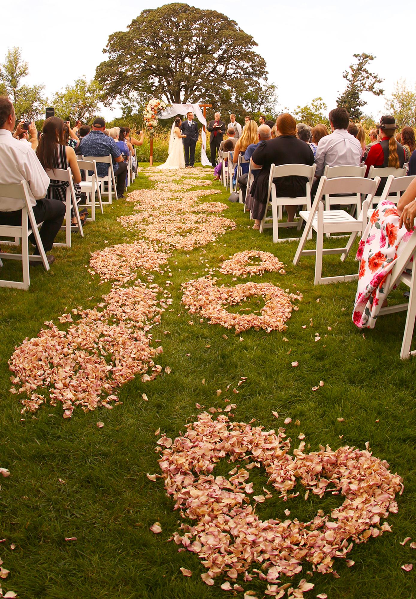 Eugene Wedding unique flowers photographer