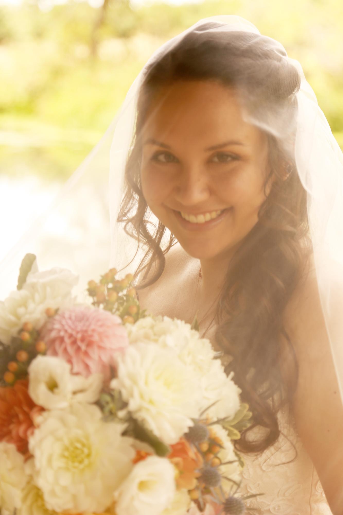 bride alone martha stewart weddings here we come