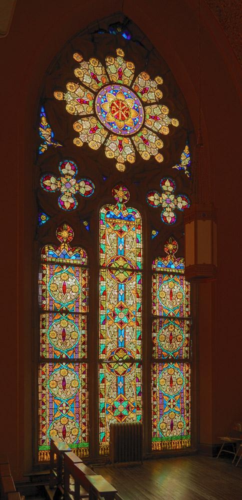 Choir Loft Window