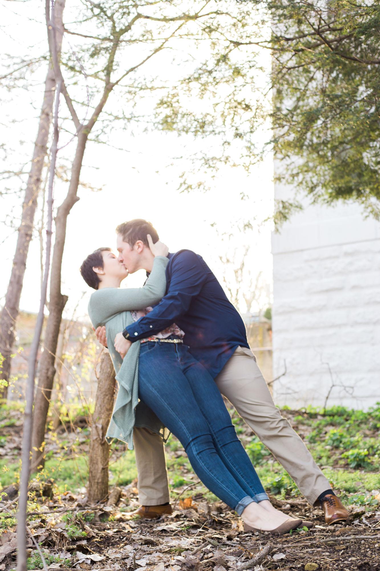 Kent, Ohio Engagement Photos by Cleveland Wedding Photographer Matt Erickson Photography