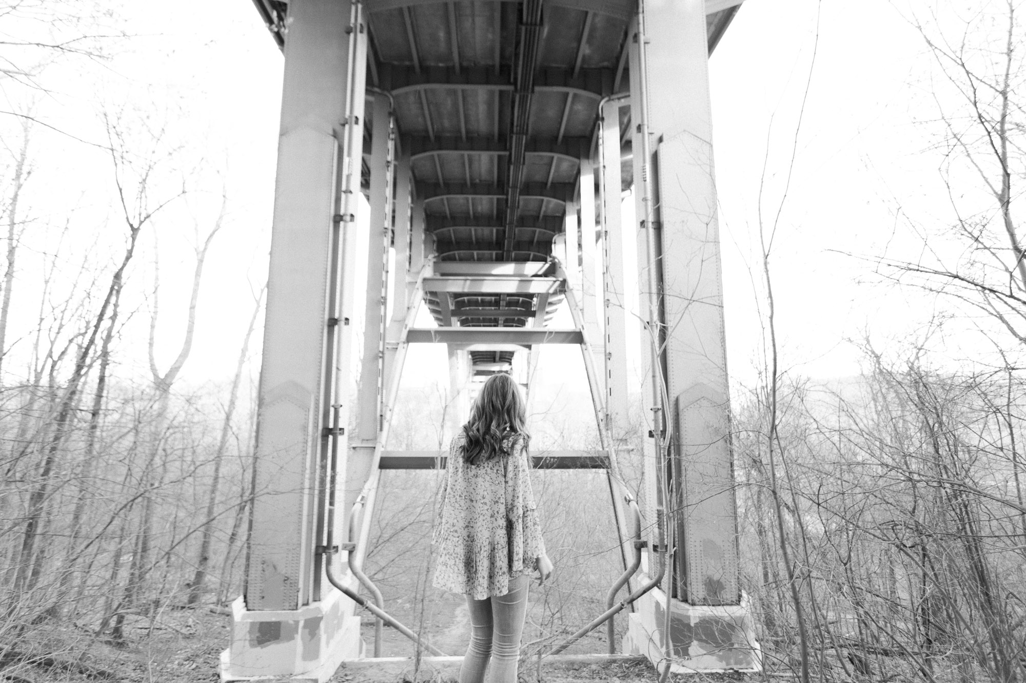 Senior Photos in the Cleveland Metroparks by Cleveland Wedding Photographer Matt Erickson Photography