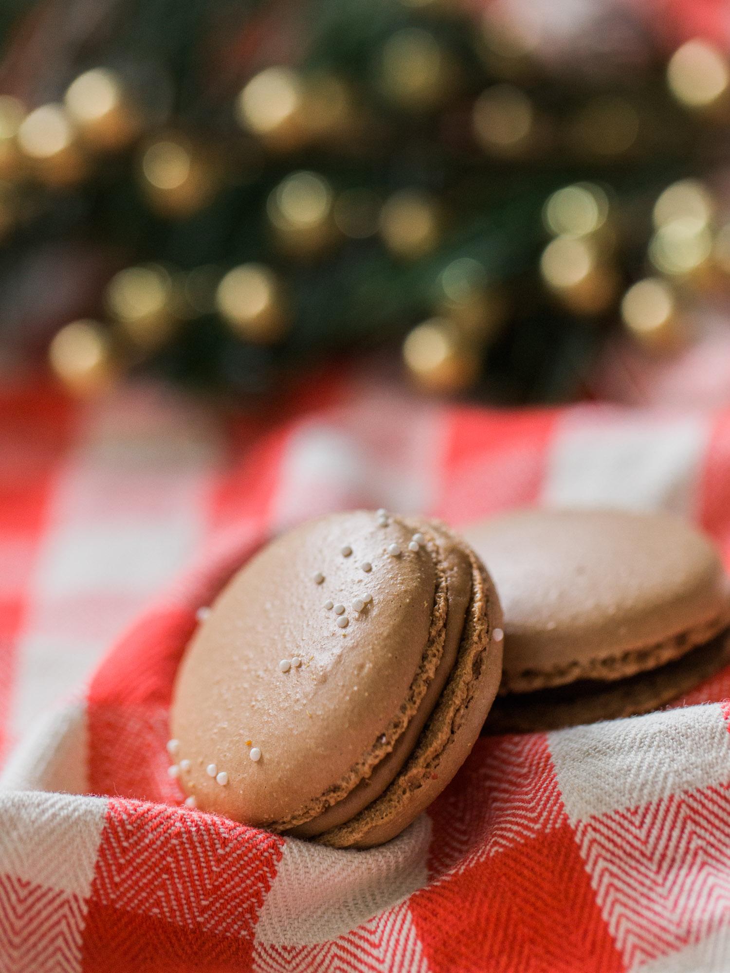 Christmas Macaron Kelsey Elizabeth Cakes by Cleveland Wedding Photographer Matt Erickson Photography