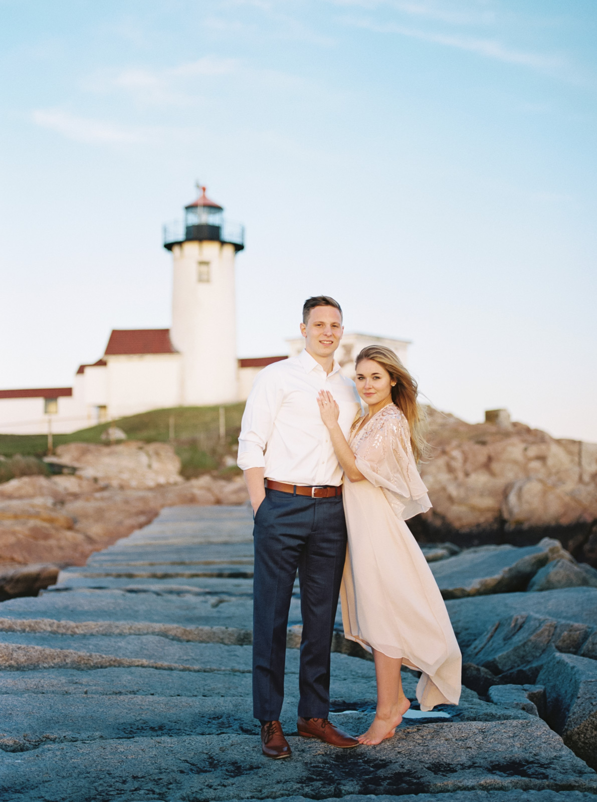 Eastern Point Lighthouse Destination Engagement Session-55.jpg