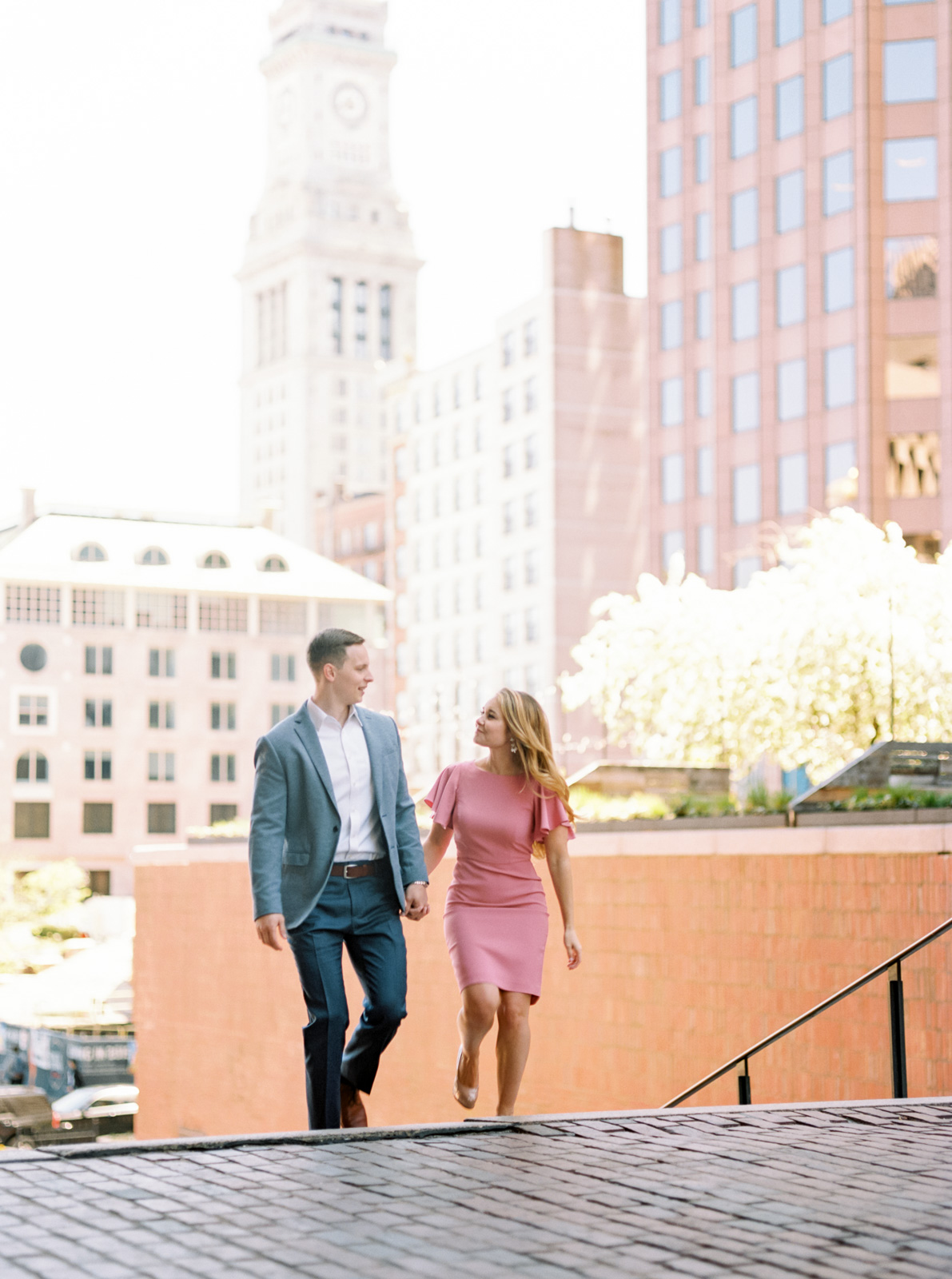 Stylish Summer Engagement Session in Downtown Boston-31.jpg