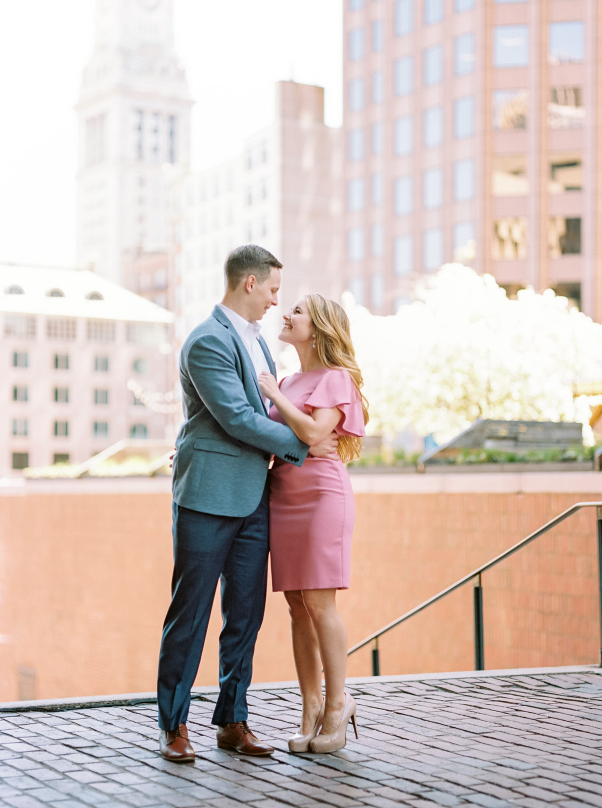 Stylish Summer Engagement Session in Downtown Boston-33.jpg