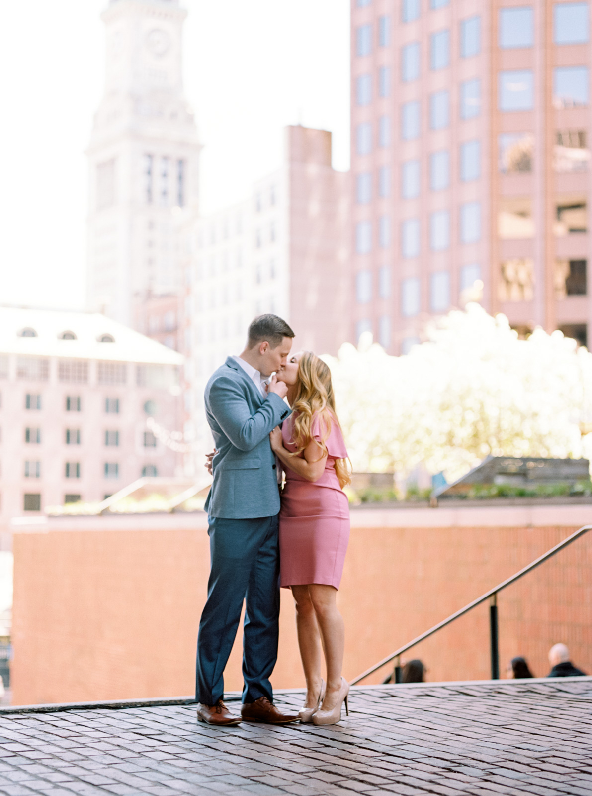 Stylish Summer Engagement Session in Downtown Boston-35.jpg
