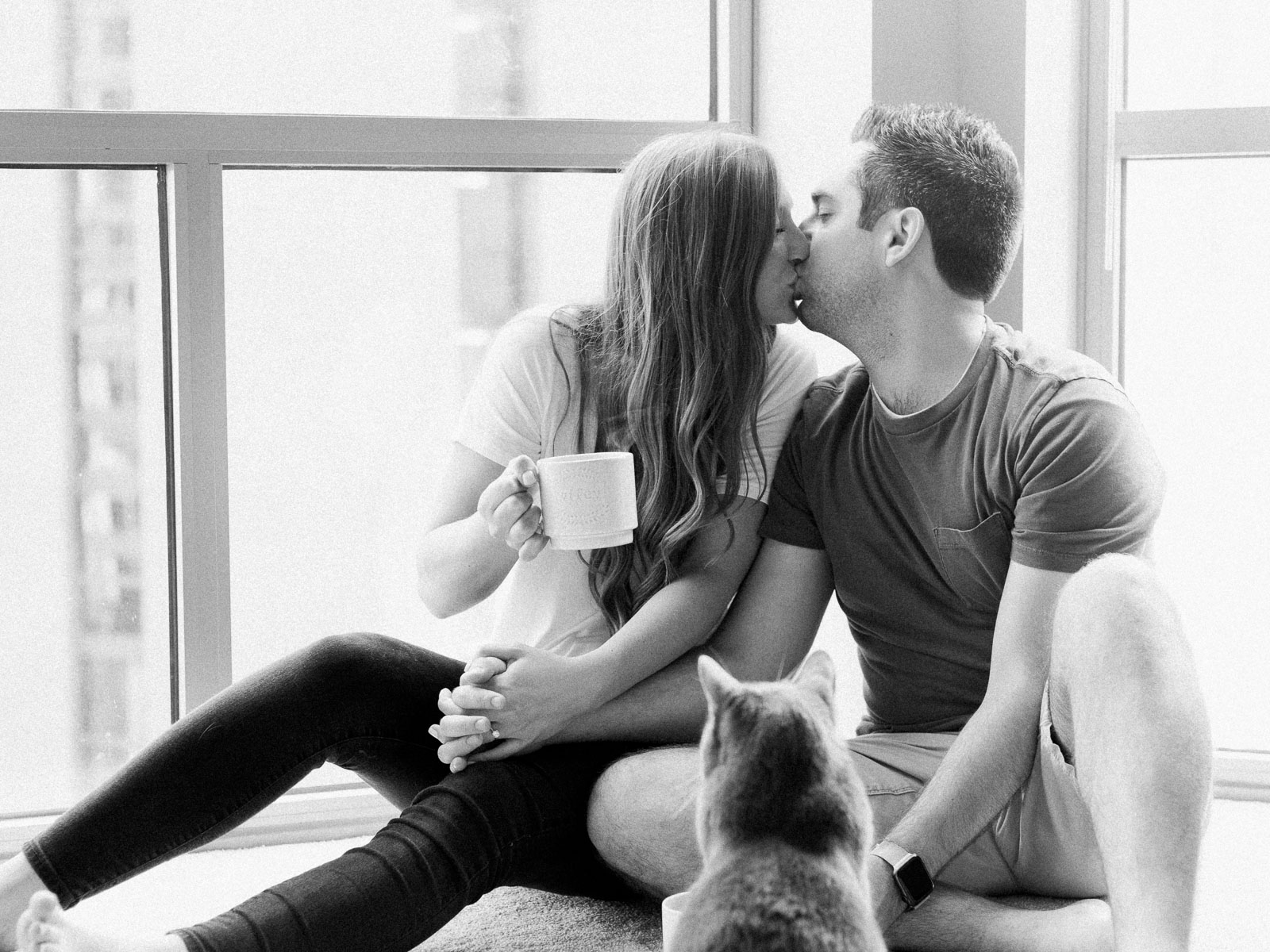 Lifestyle In Home Chicago Engagement Photos by Matt Erickson Photography-7.jpg