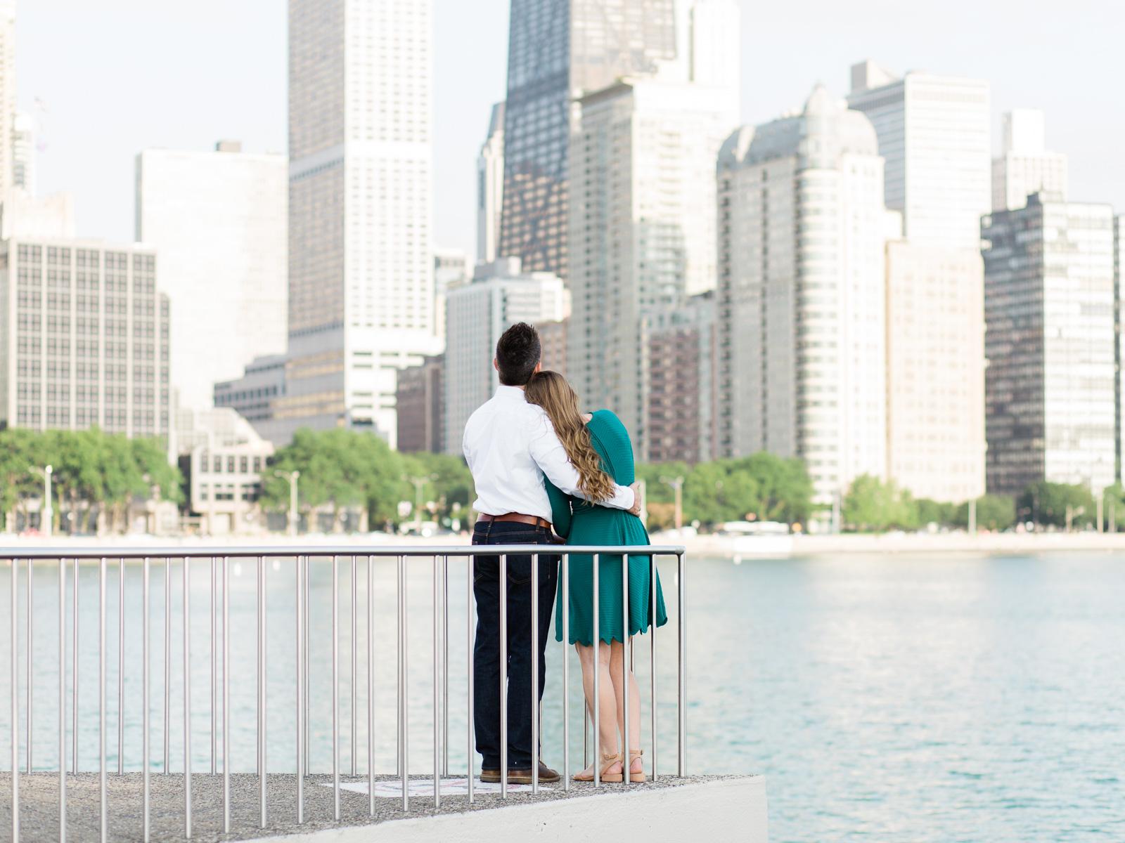 Romantic Chicago Engagement Photos at Milton Lee Olive Park by Matt Erickson Photography-11.jpg
