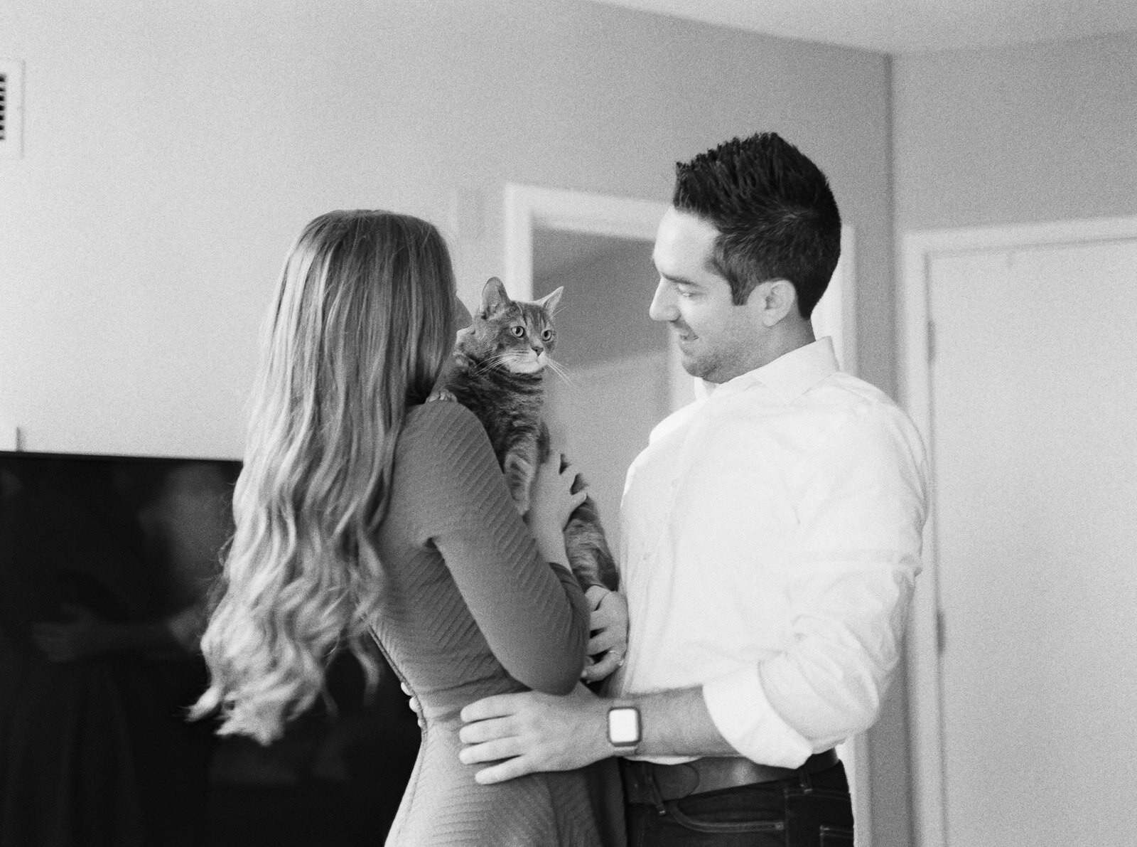 Lifestyle In Home Chicago Engagement Photos-7.jpg