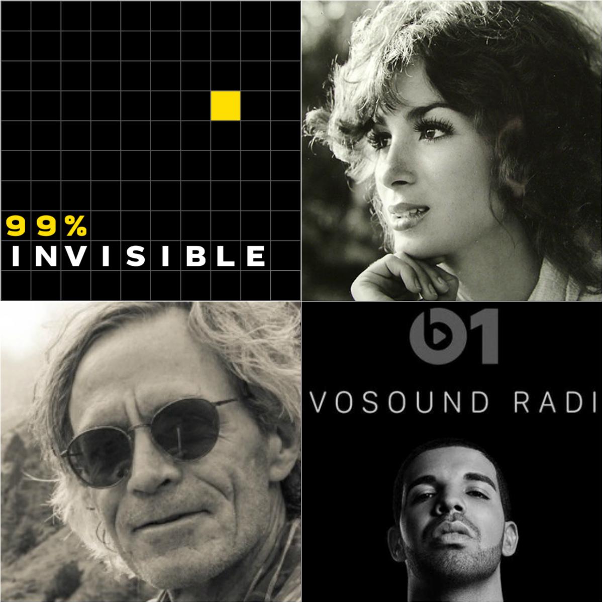 DAGLIGE ANBEFALINGER:     99% Invisible, Everything Is Stories, Scott Carrier og OVO SOUND RADIO er blant våre favoritter.