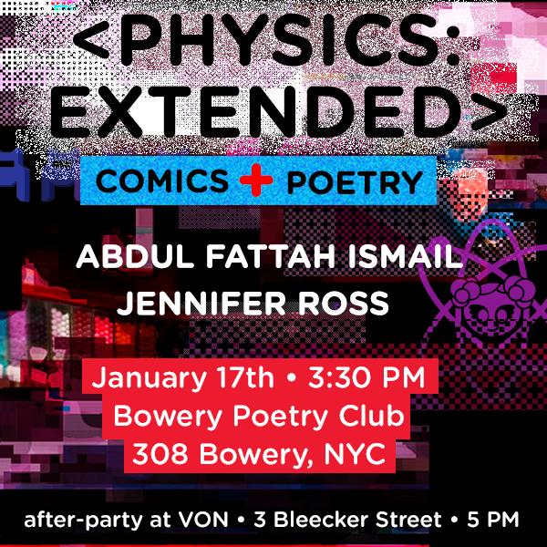 January 2016: Bowery poetry club. bowery. nyc.