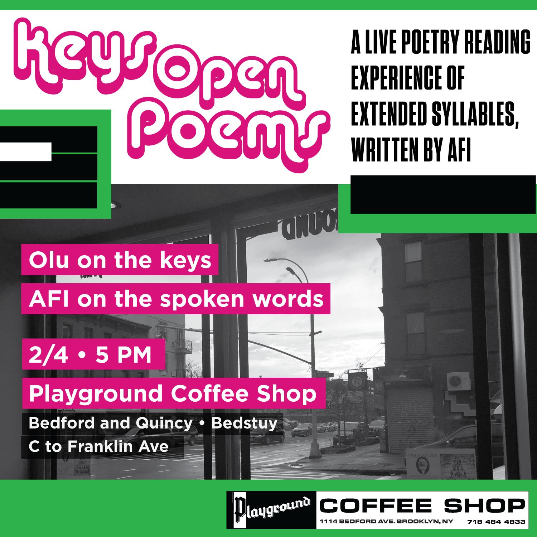 February 4, 2017. playground coffee shop. Bedford stuyvesant.  brooklyn, new york