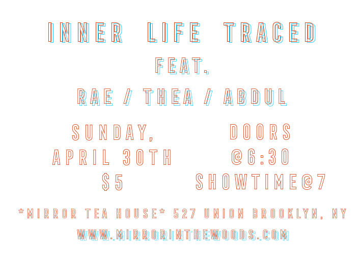 April 30, 2017. mirror Tea House. Gowanus.  Brooklyn, New york