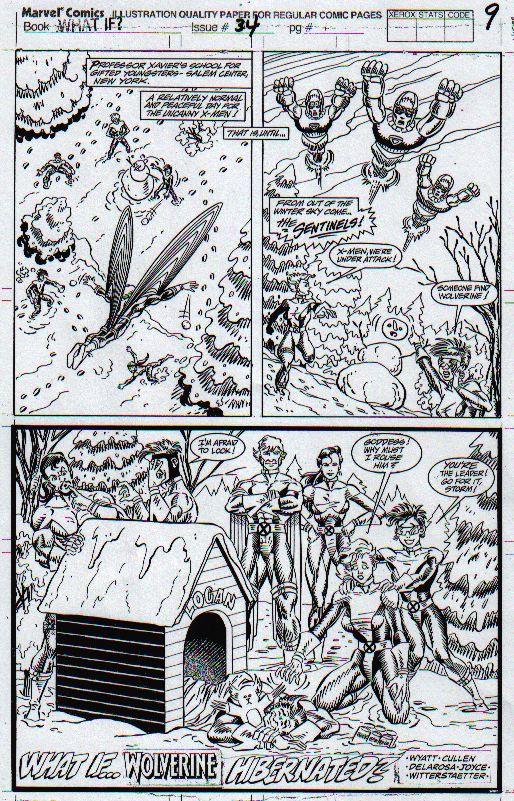 """What If Wolverine Hibernated?"""