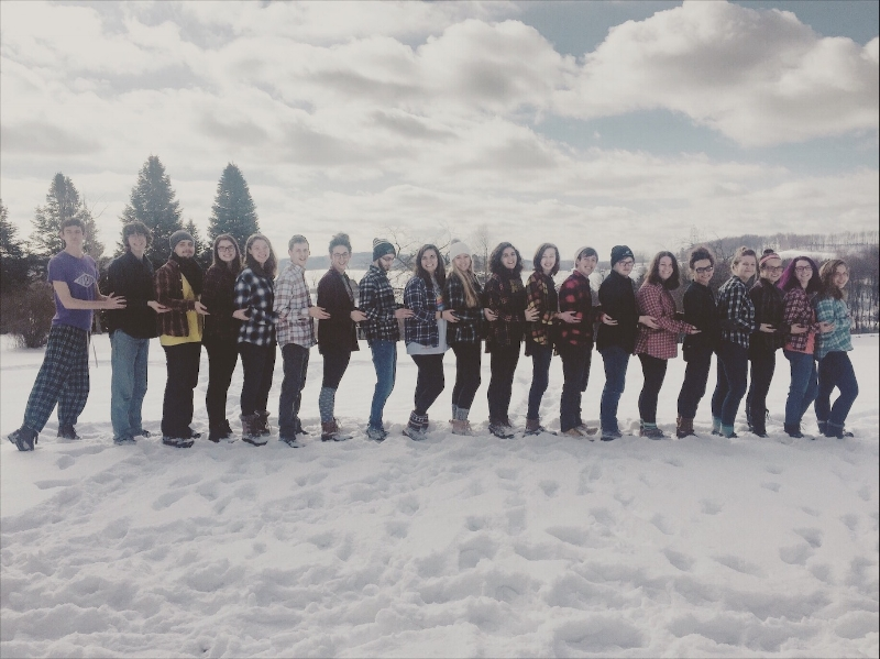A picture of me and some Pitt RUF students enjoying the snow for your entertainment.
