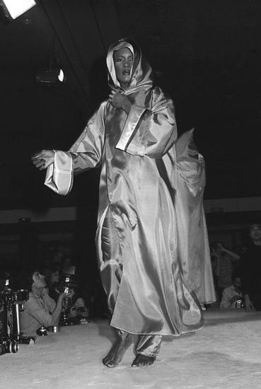 Castelbajac, Grace Jones, 1977