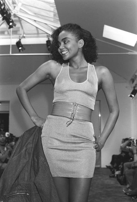 Alaia, 1985. Christina