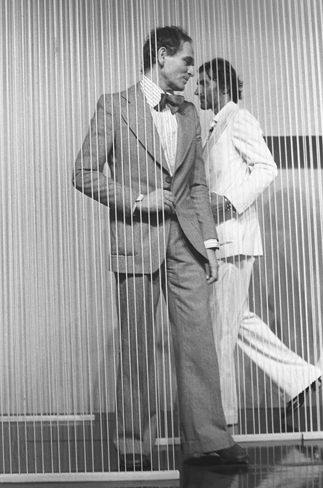 Pierre Cardin and Andre Oliver, 1975