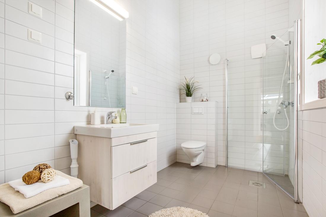 Bad i leilighet, Hurdal Økolandsby
