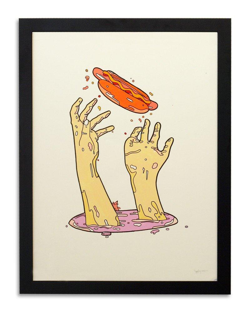 """From """"Mind Intern"""" at Mondo Gallery, Austin, TX"""
