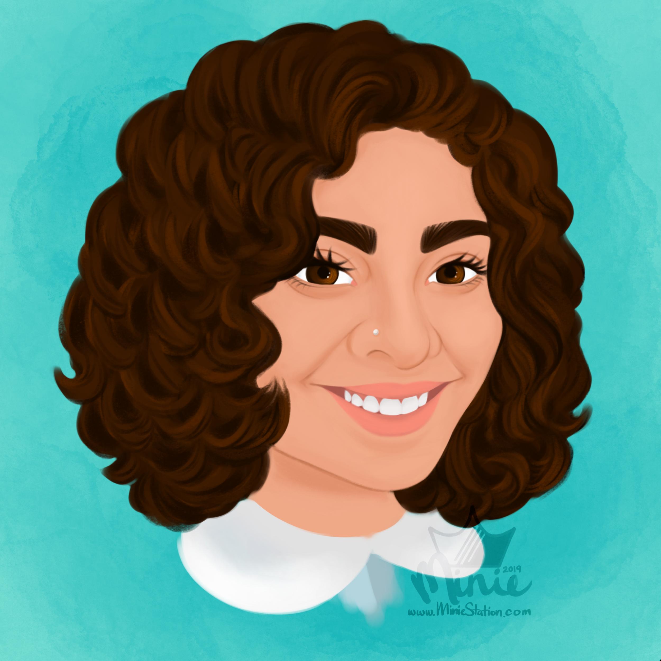 Portrait of Diana Riezgo