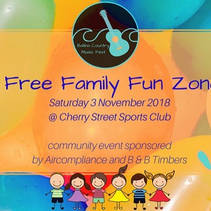 FREE family fun zone with rides and activities for the kids at @cherrystreetsports today to coincide with our markets and live music in the street.  #freefun #kidsentertainment #ballina @discovernorthernnsw @discoverballina #bcmf2018 @byron4kids